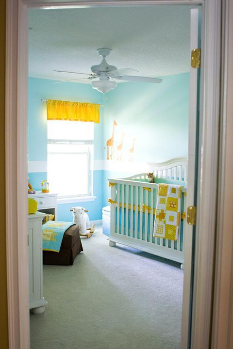 Dětský pokoj... - príma barvičky!