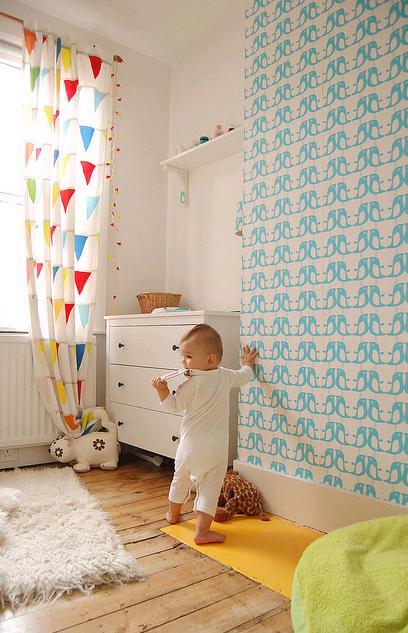 Dětský pokoj... - to je paráda! skvělá barevná kombinace :)