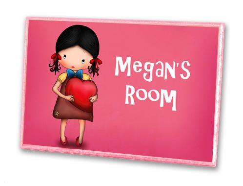 Dětský pokoj... - jmenovka na dveře musí být!