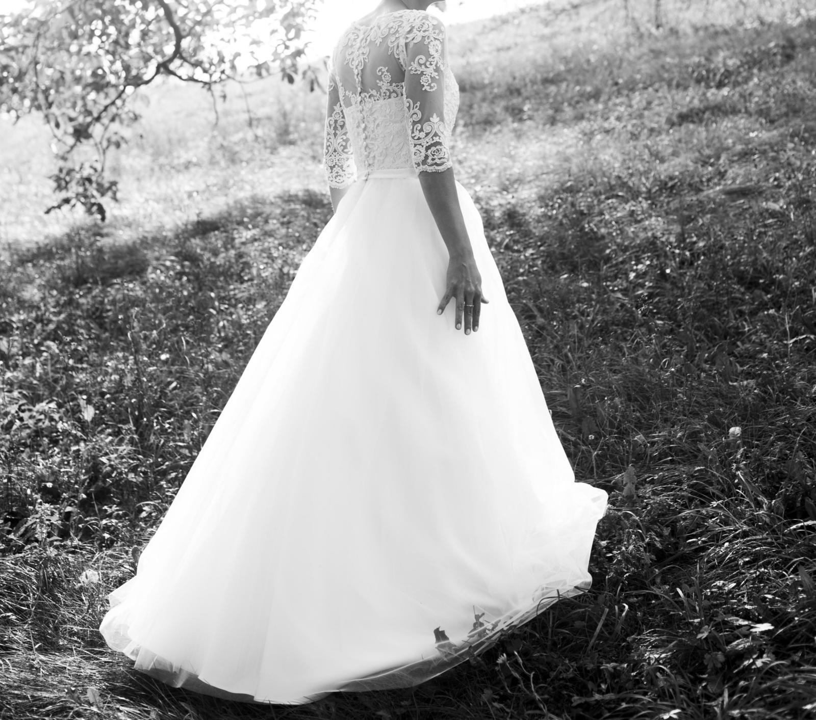 Svadobné šaty 34 - Obrázok č. 3