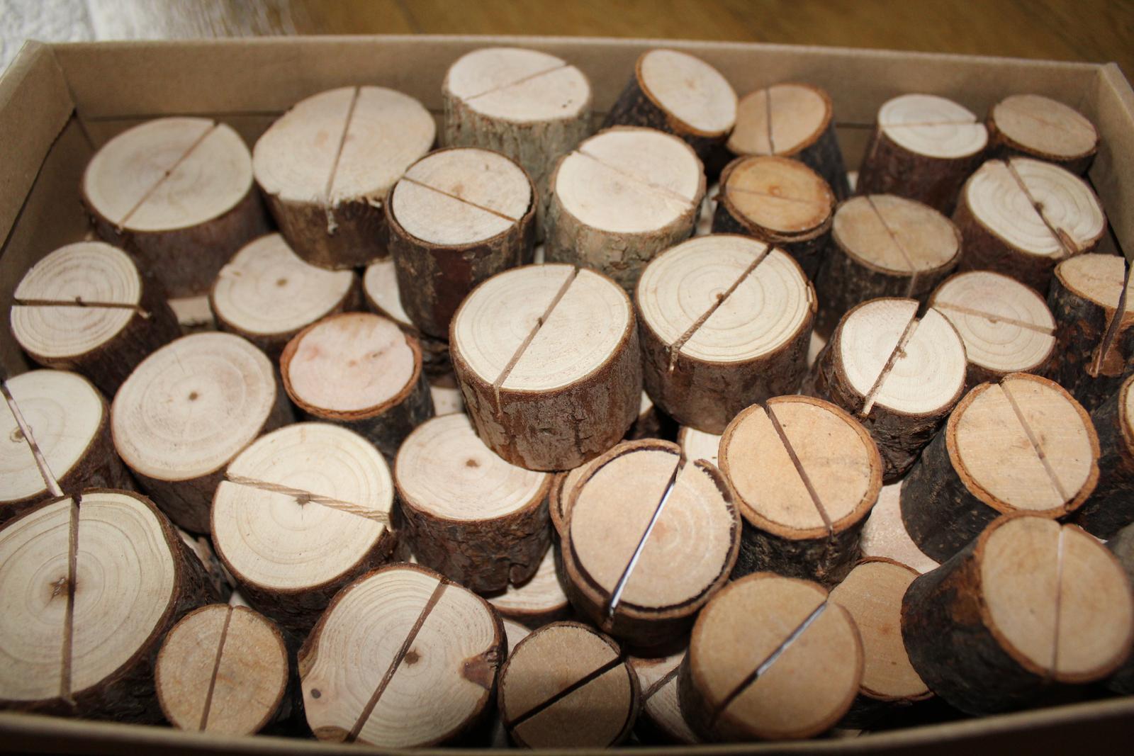 Dřevěné jmenovky kmínky - Obrázek č. 1