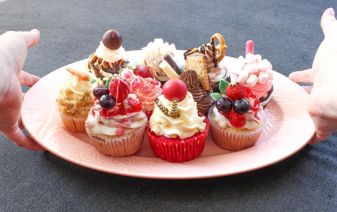 Profesionální svatební cupcakes - Obrázek č. 1