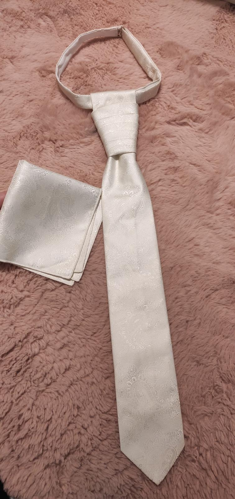 svadobná kravata - Obrázok č. 1