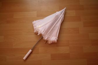Deštníček jsem si koupila na půl ze sousedkou která se vdáváv září(neboj Hani nezničím :-)  )