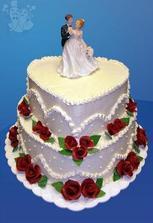 nas svatebni dort :)