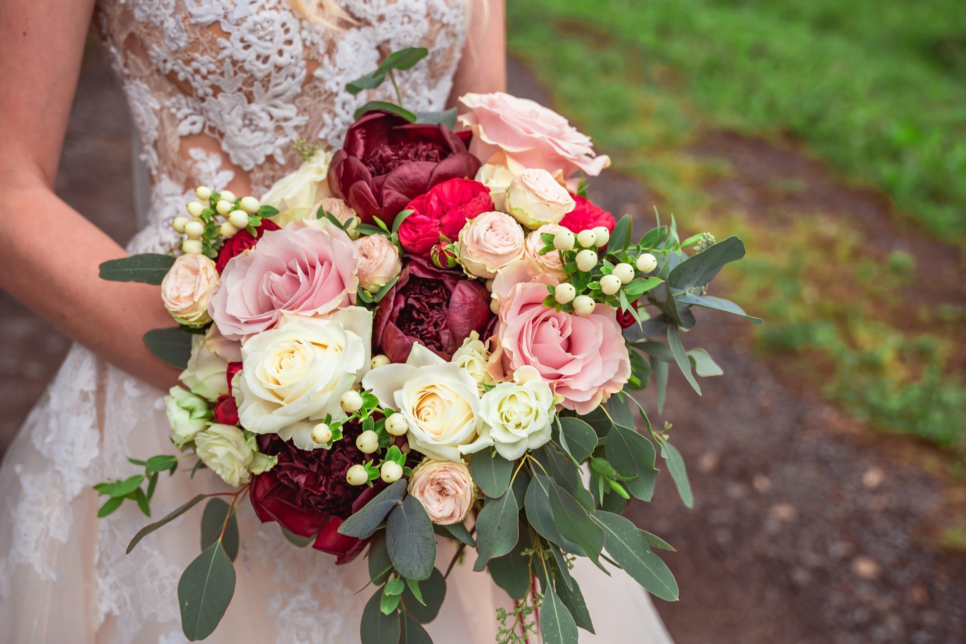 Alžběta                    a                    Štěpán - Boží kytice z Time4flowers
