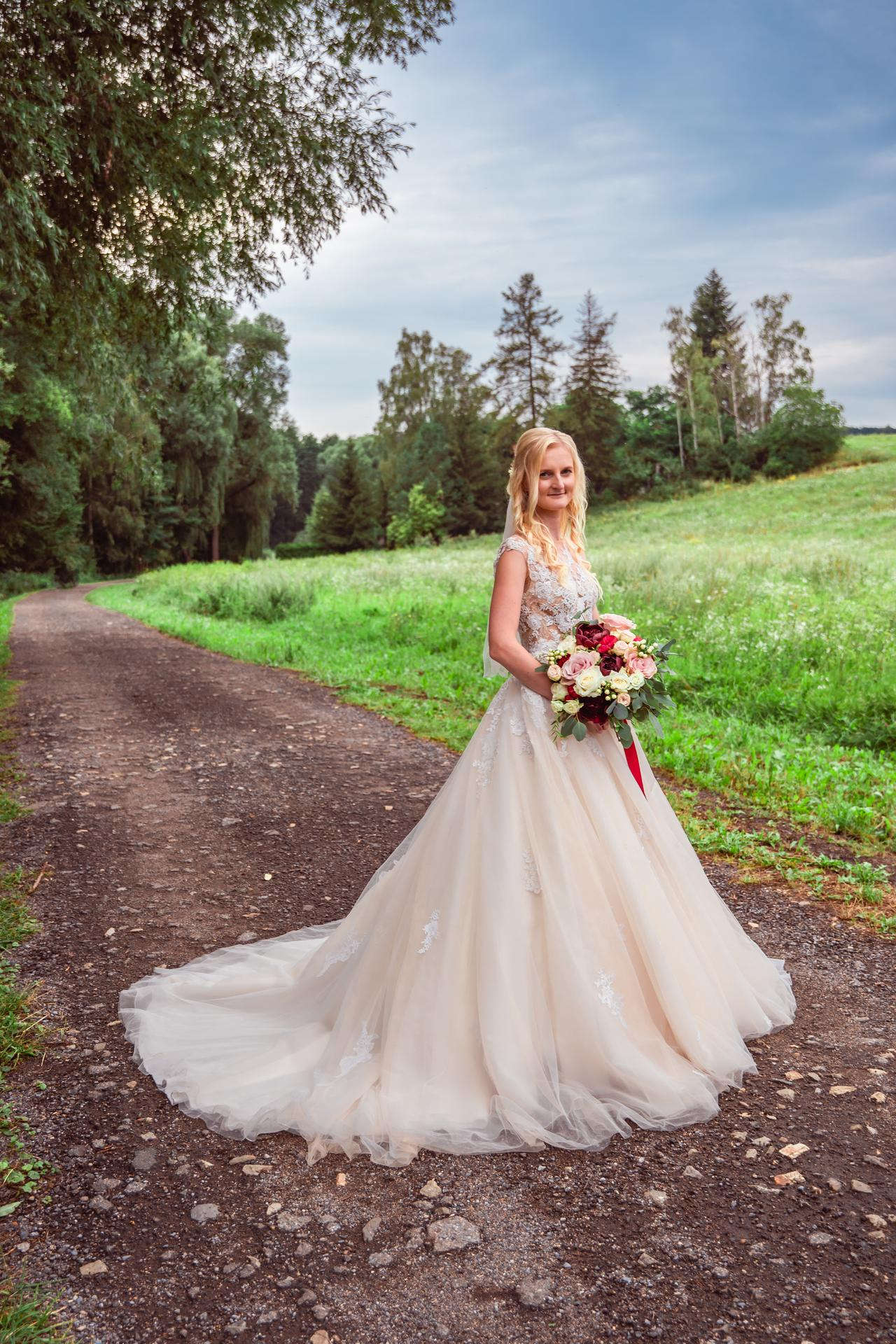 Alžběta                    a                    Štěpán - 🌸🌺 Dokonalé šaty Pronovias Ofelia