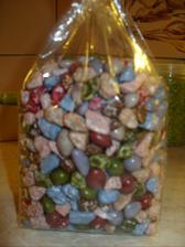 místo mandlicek pro hosty, budeme mít tyto čoko kamínko...:)