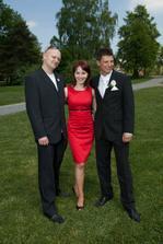 Naše úžasná svatební koordinátorka Irenka..