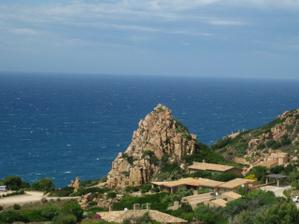 a naše líbánky...v Costa Paradiso na Sardinii..