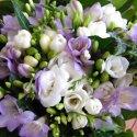 Blazniva aprilova svadba:) - frezie su kvety ktore mi casto nosi moj drahy, preto musia byt:)