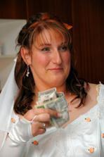 Nevěsta se světovou měnou
