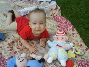 Eliška 10 měsíců