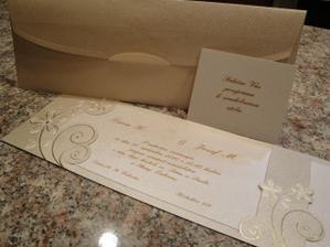 Nase svadobne oznamenia :)