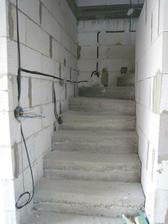 osvětlení u schodů