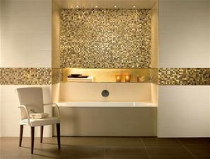 zlatá v koupelně rozhodně bude, jen ne v takovém množství, protože je pekelně drahá...