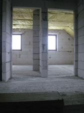 horní patro - pohled ze schodů