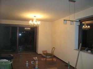 světla - obývák a nad jídelní stůl