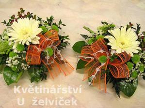 ... výzdova místa pro svatební obřad