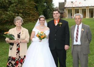 s prarodiči nevěsty