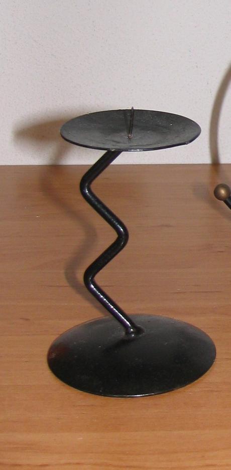 nepoužívaný kovový svietnik - Obrázok č. 1