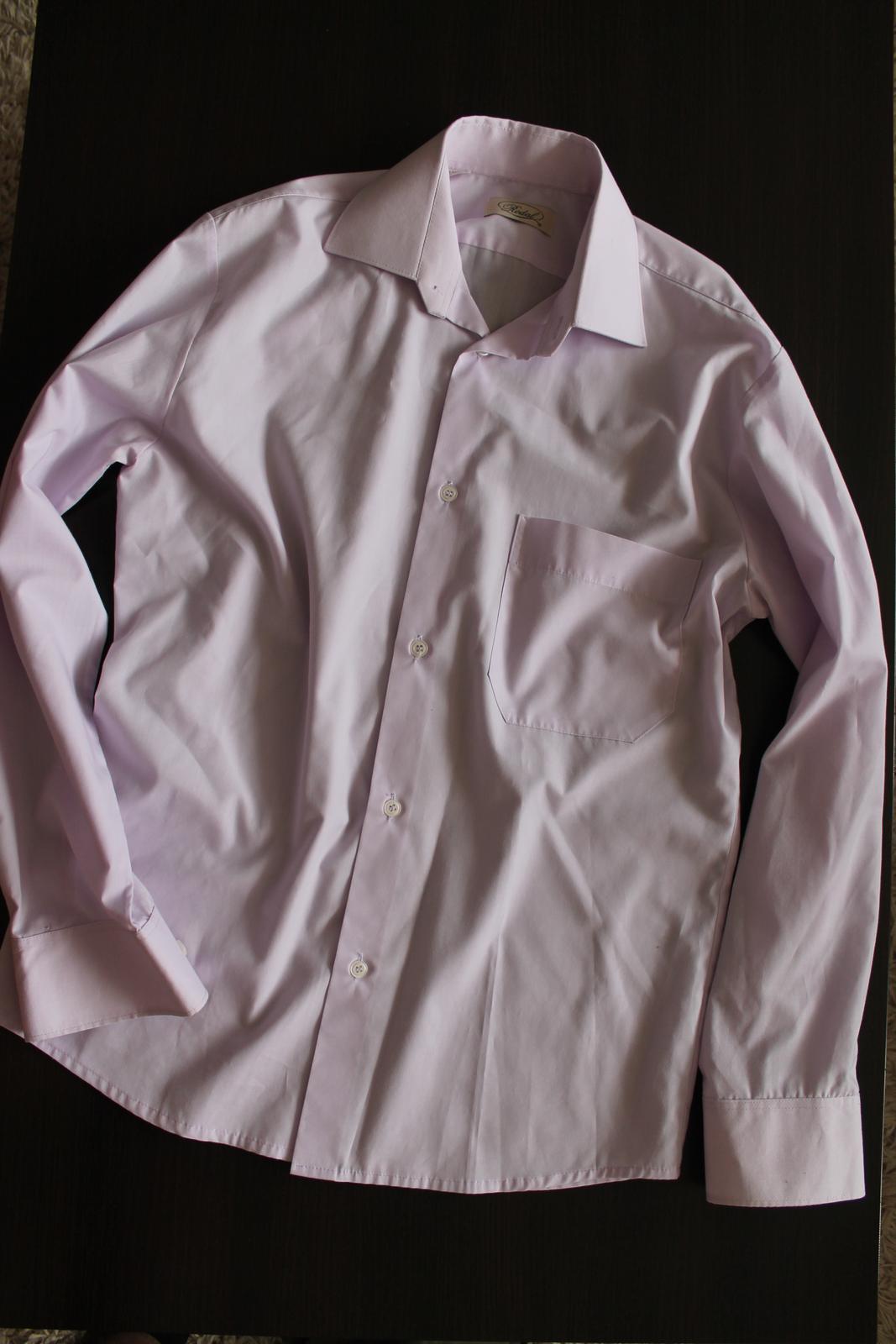 svetlofialová košeľa - Obrázok č. 1