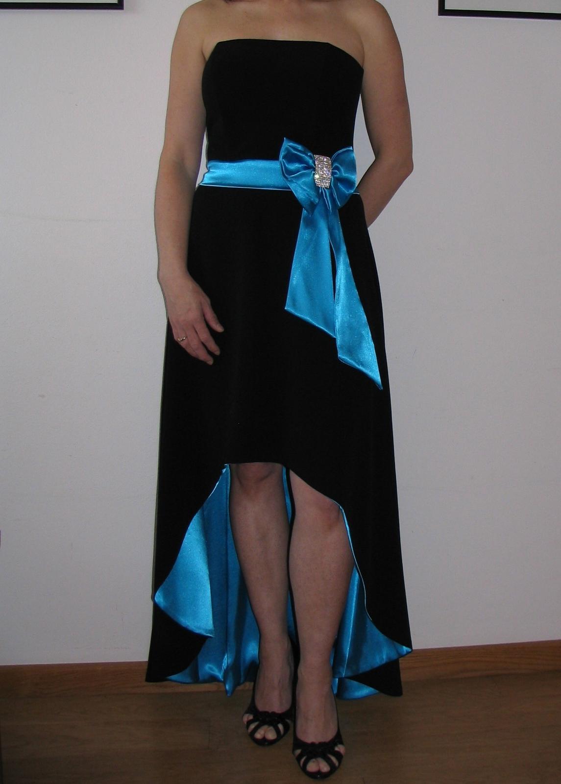 Spoločenské šaty top stav  - Obrázok č. 1