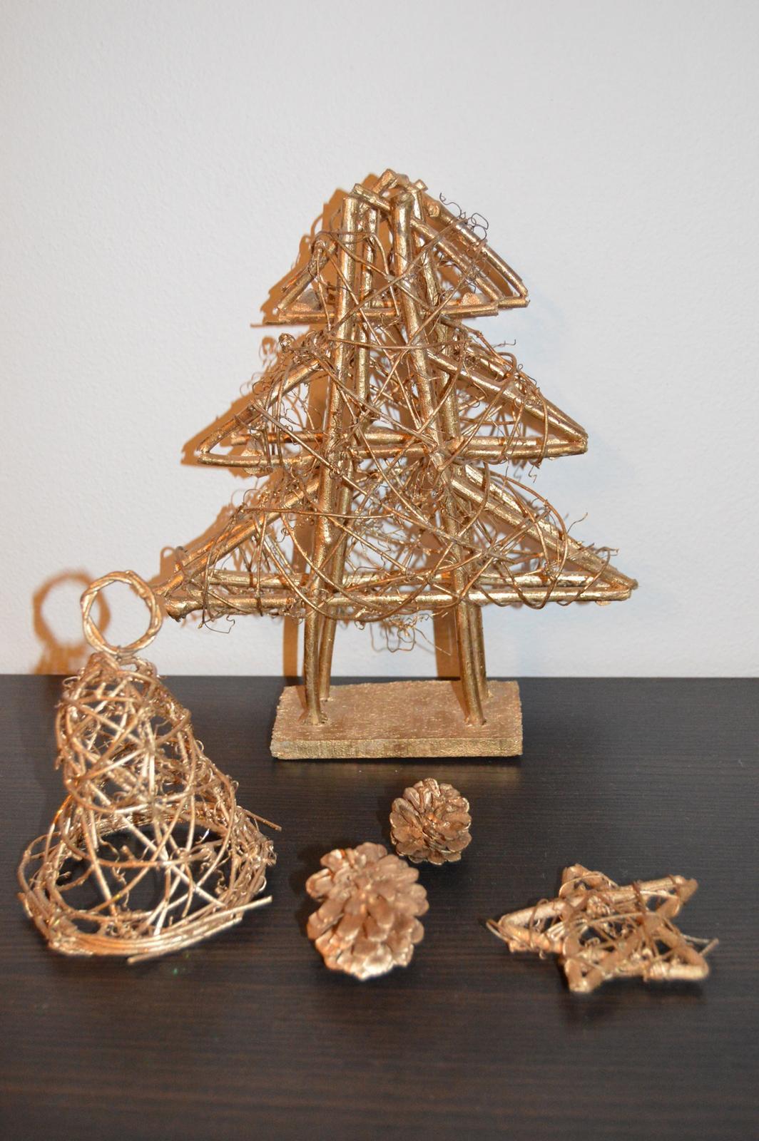 Vianočná dekorácia Zvon - Obrázok č. 1