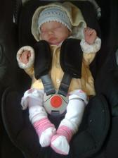Viktorka se narodila 9.6.2011
