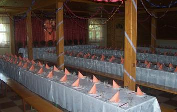 místa pro hosty