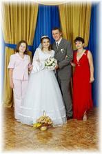 maminka a sestra nevěsty