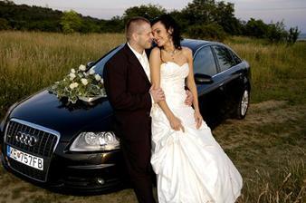 na tomto aute sme sa prevážali, lebo svadobné sme nemohli naštartovať
