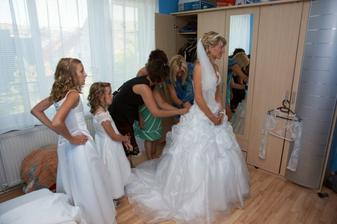 Chystání nevěsty