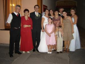 moje sestry s rodinami