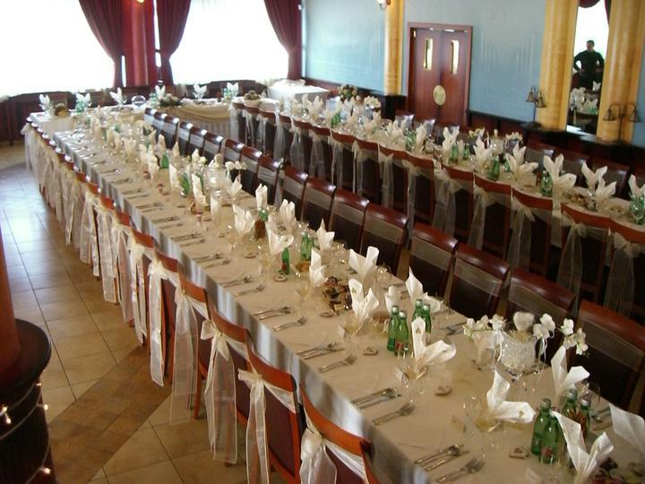 Prípravy - miesto svadobnej hostiny