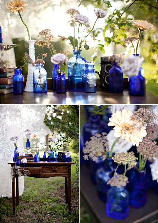 ♥ krajkovo-modro-hnědá pro I. - Obrázek č. 43
