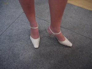 Moje boty, díky Klárko