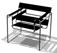 Marcel Breuer - Wassily chair, 1926