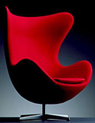 Moja oblubena klasika - Arne Jacobsen - Egg chair, 1956