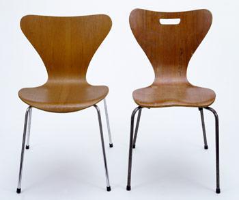 Moja oblubena klasika - Arne Jacobsen - Butterfly chair, 1957