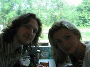 Svatební výlet II. :-) Na cestě Pendolínem do Vídně...