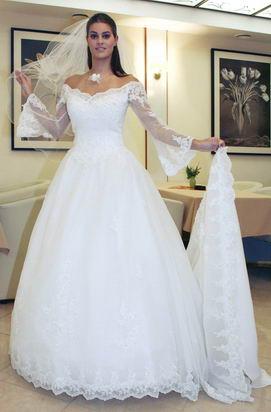 Moja septembrová svadba - predstava o mojich svadobných šatách