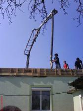 betón na strechu