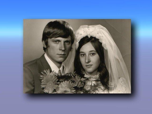 Sonka a Peťo - 7.7.2007 - Vráble - svadobná fotografia ženíchových rodičov