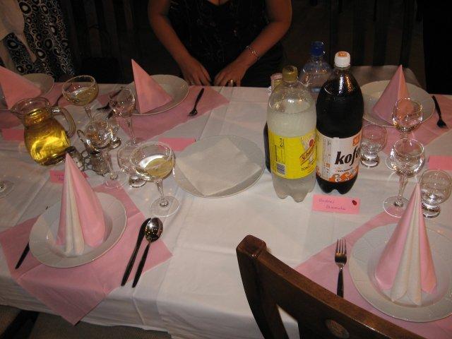Sonka a Peťo - 7.7.2007 - Vráble - svadobné stoly