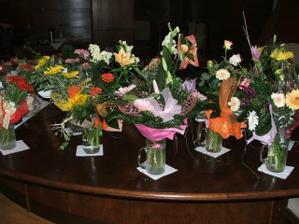 kytice od gratulantov