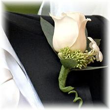..korsáž pro ženicha..