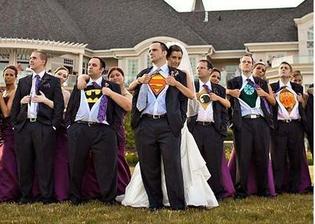 Pro každou z nás je náš nastávající superhrdina...