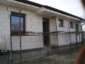 marec 2012 okná+AL dvere