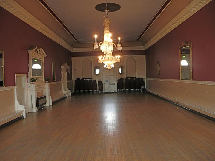 My Wedding bits and bobs - The Ballroom we are having the reception at.....